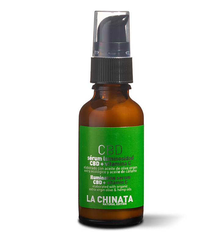 La Chinata Serum Luminosidad CBD Vitamina C