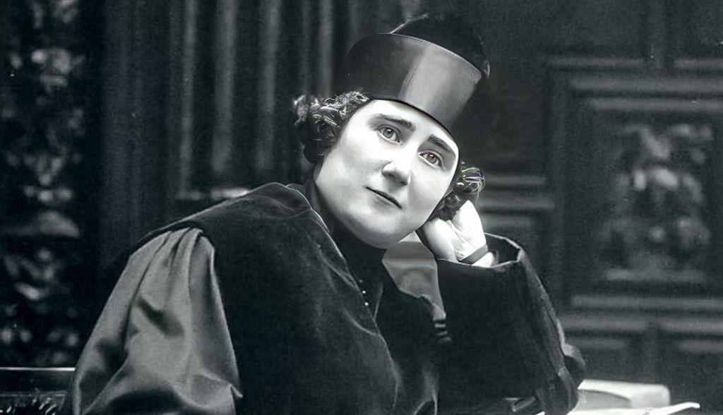 Clara Campoamor en Dieciséis mujjeres 16 del siglo XX
