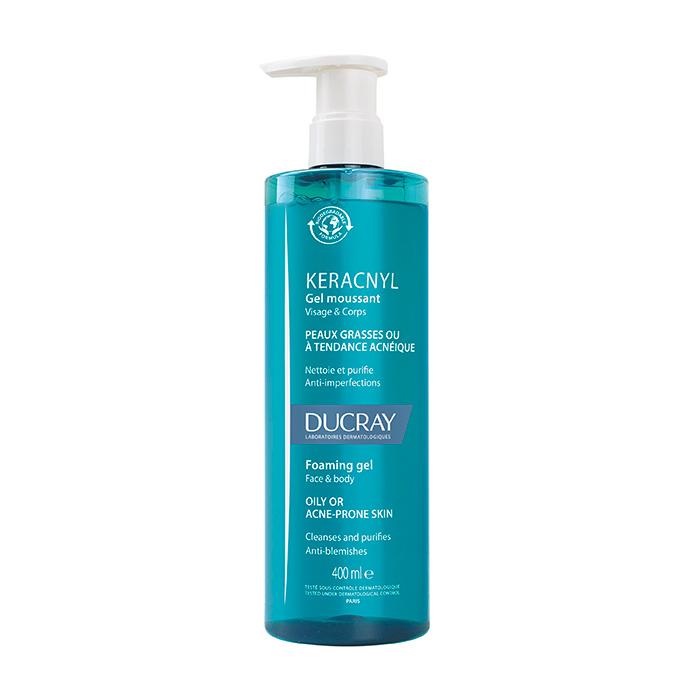 Novedades cosméticas anti-acné farmacias WEB DUCRAY KERACNYL GEL LIMPIADOR 400ml