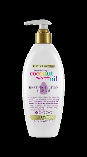 CoconutMiracleOil HeatProtectCream OGX Peinado