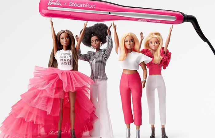 Barbie Loreal Steampod Plancha Vapor