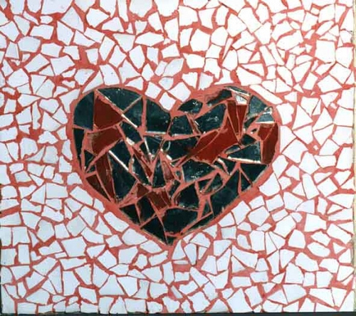 corazones rotos por el amor. ¿Alguno de corazones rotos o